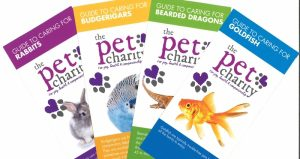 The Pet Charity pet care leaflets